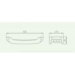 Taille siège PVC