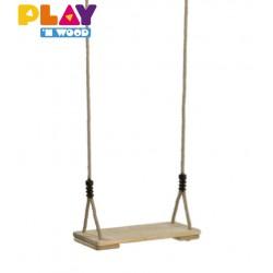 Siège de balançoires en bois 38 cm