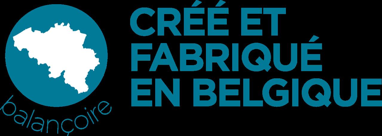 Créé et fabriqué en Belgique
